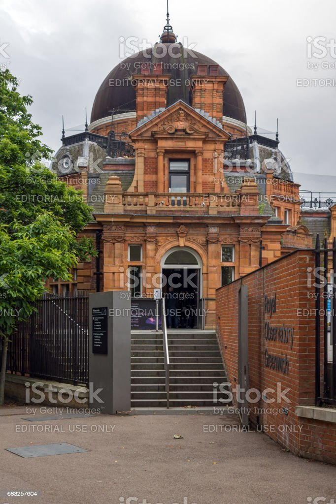 LONDON, ENGLAND - JUNE 17 2016: Royal Observatory in Greenwich, London, Great Britain stock photo