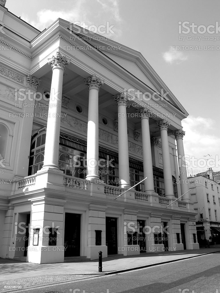 Royal Opera House in Covent Garden stock photo