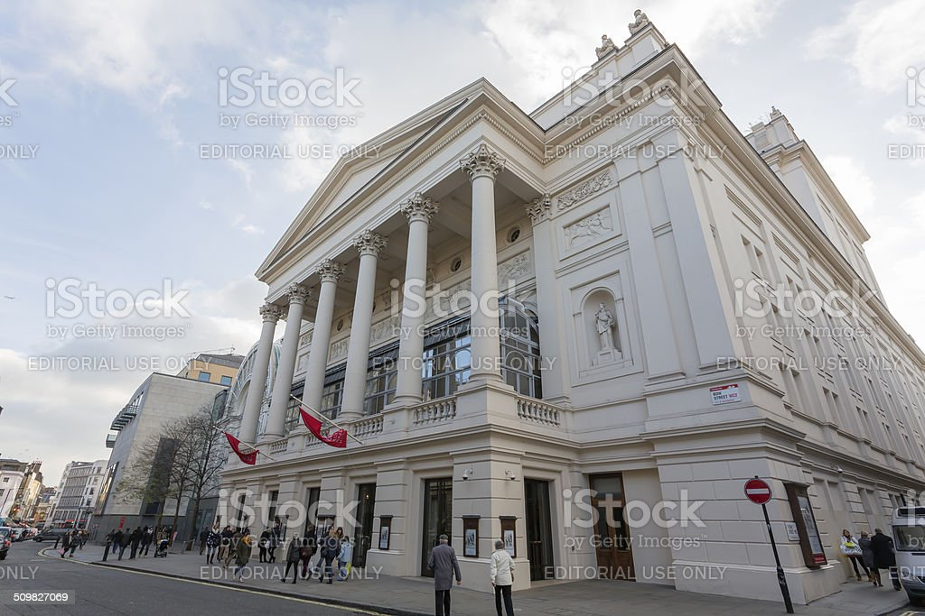 Royal Opera House London stock photo