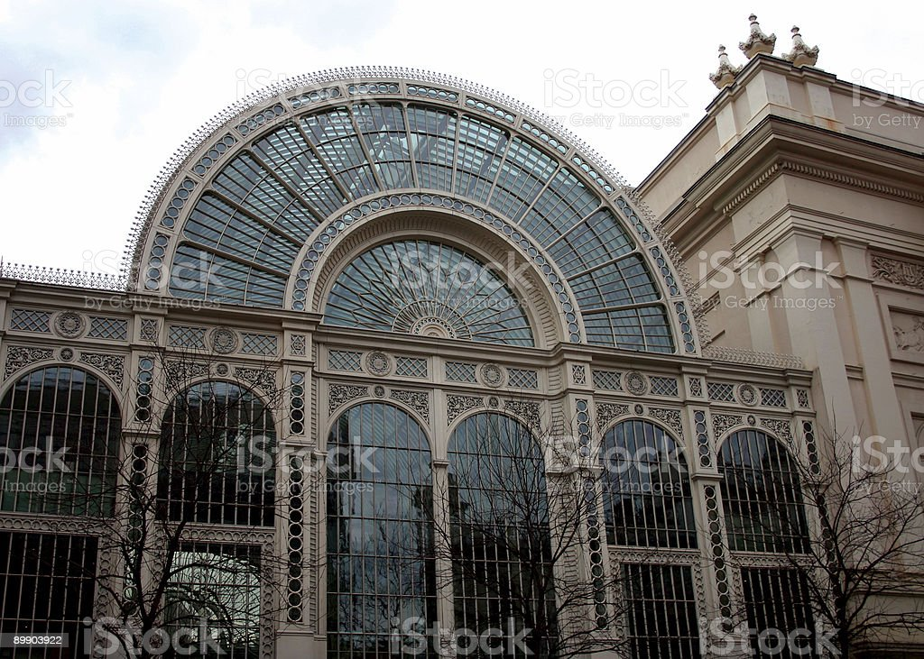 Royal Opera House near Covent Garden in London royalty-free stock photo