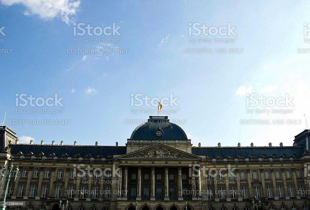 Royal Palace, Brussels, Belgium stock photo