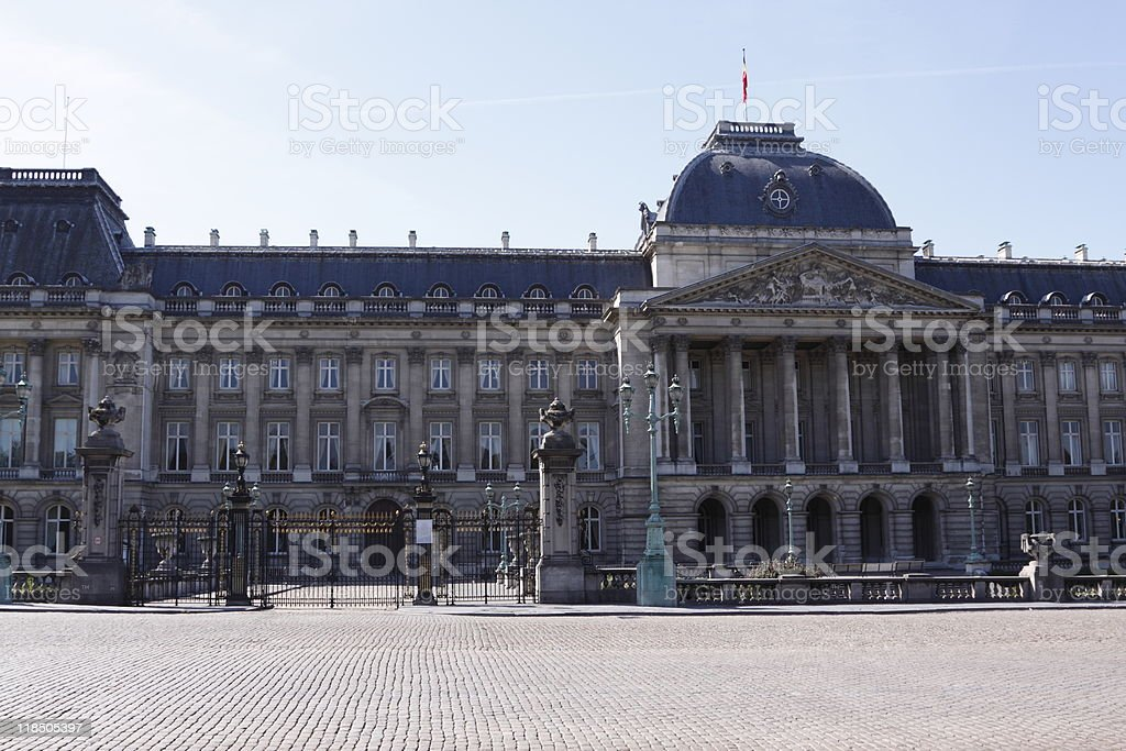 Royal Palace, Brussels royalty-free stock photo