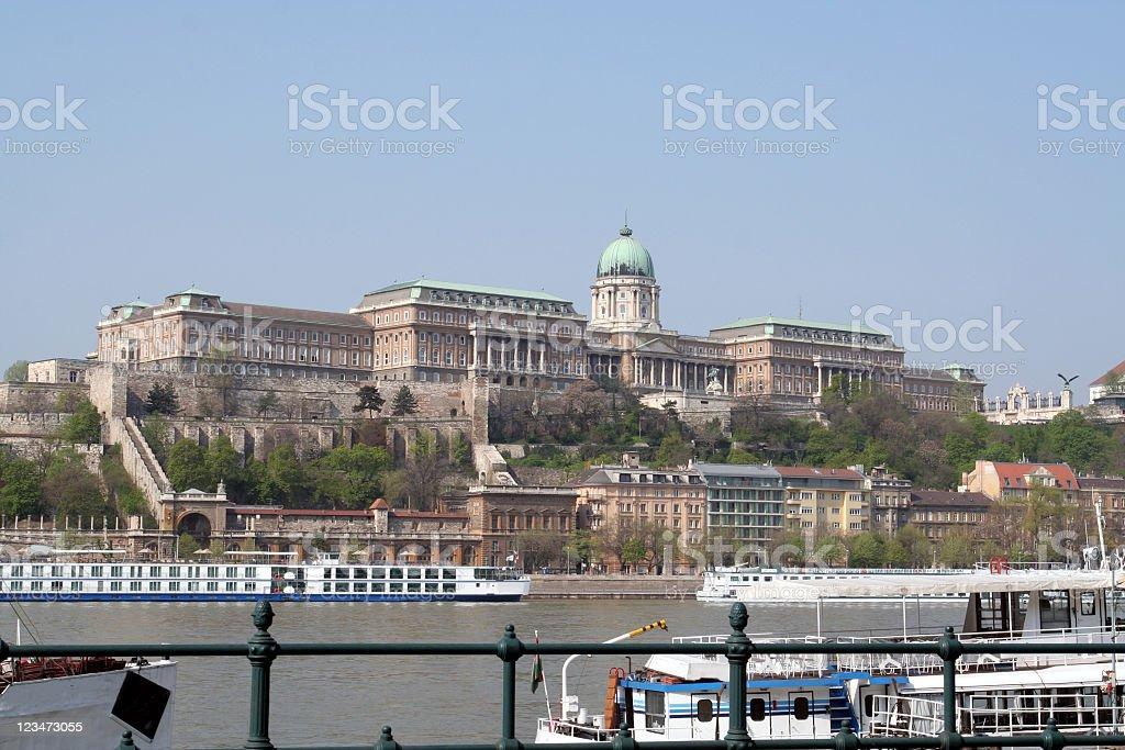 Royal Palace of Buda royalty-free stock photo