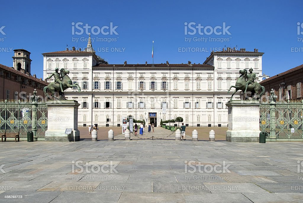 Royal Palace of Turin royalty-free stock photo