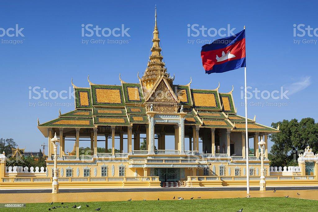 Royal Palace pavilion stock photo