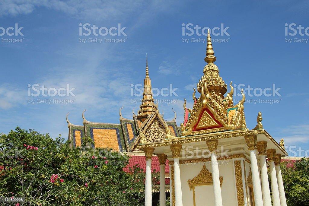 Royal Palace royalty-free stock photo