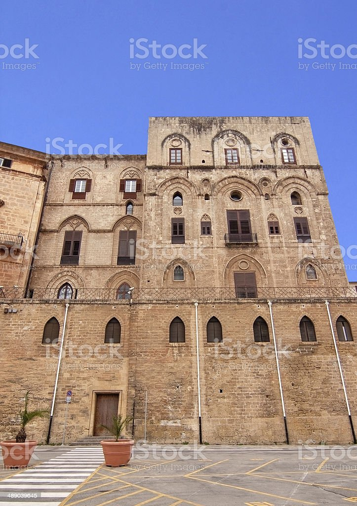 Palazzo Reale sexies stock photo