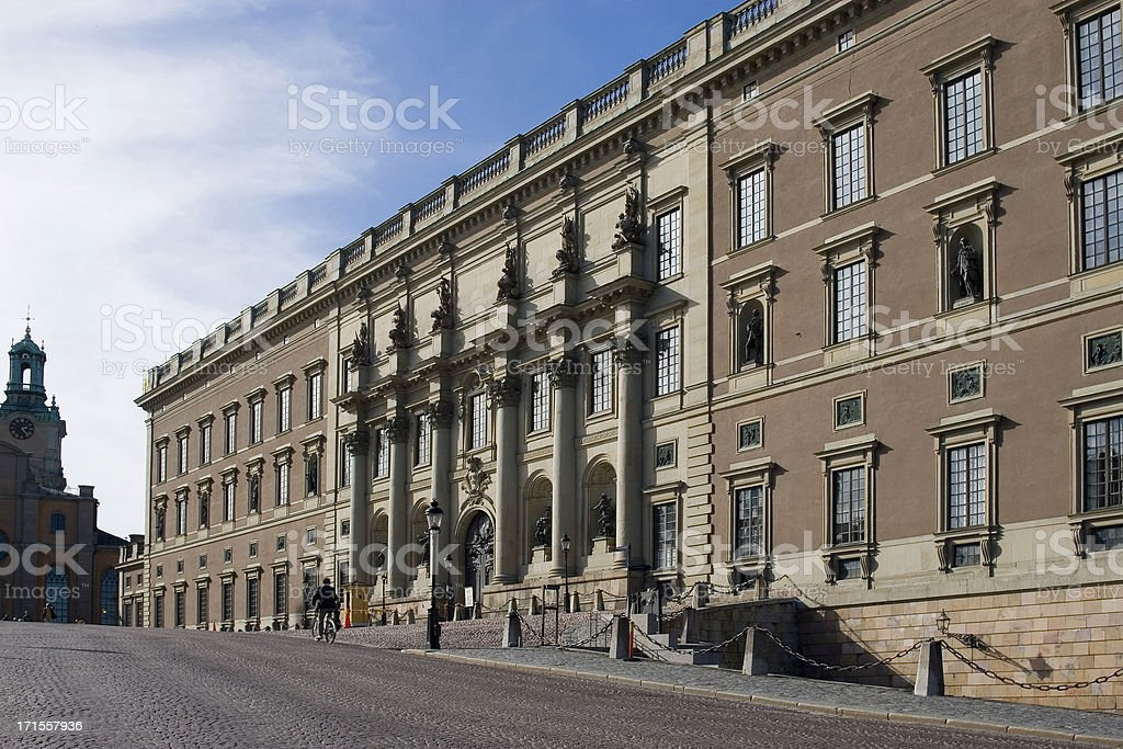 Royal Palace, Stockhom, Sweden royalty-free stock photo