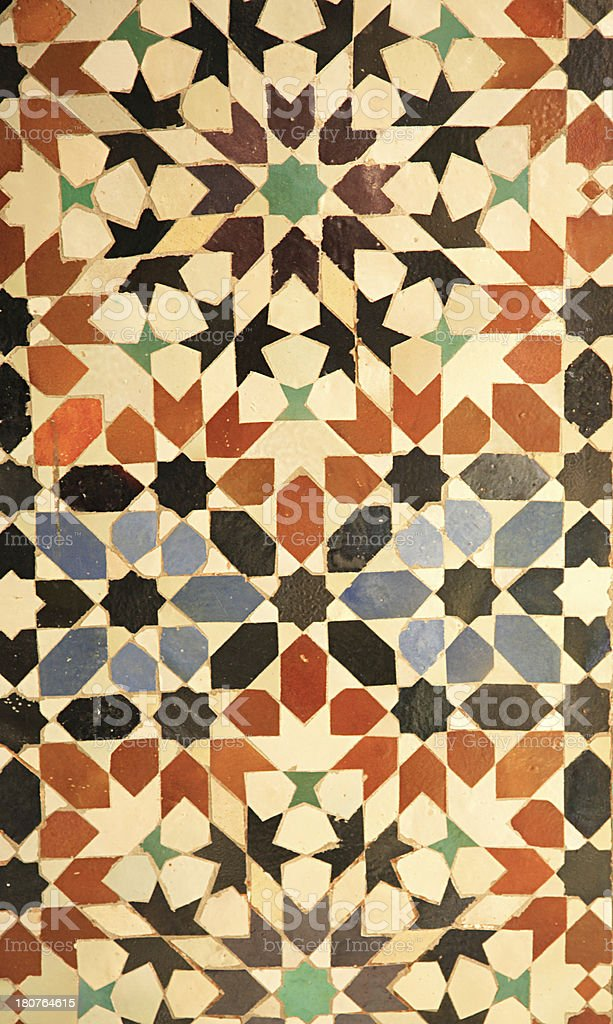 Royal Palace tiles royalty-free stock photo
