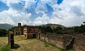 Royal palaces in Fasil Ghebbi site Gonder