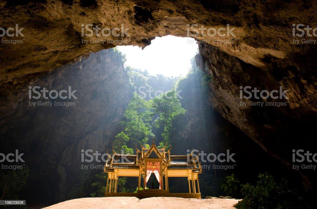 Royal Pavilion in Phraya Nakhon Cave, Thailand. stock photo