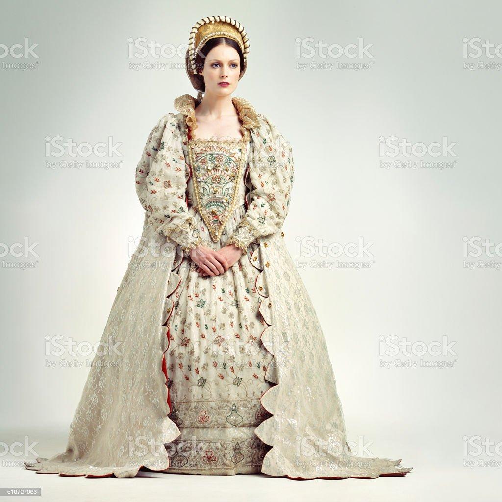 Royal poise stock photo