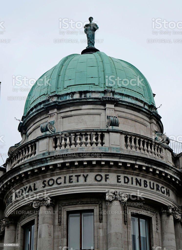 Royal Society of Edinburgh building stock photo