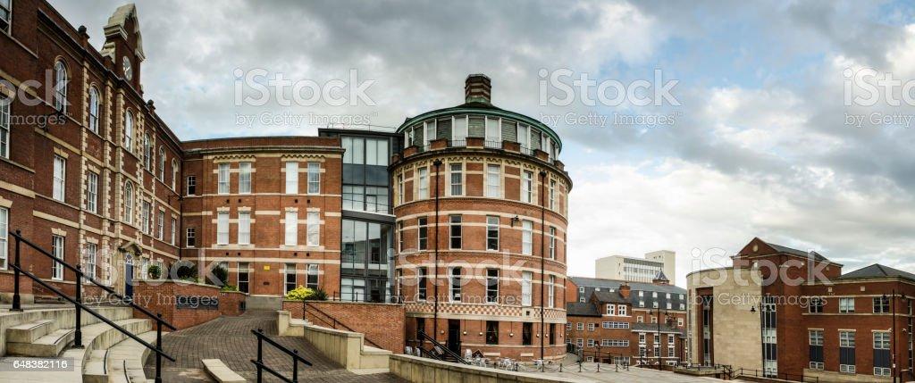 Royal Standard Place stock photo