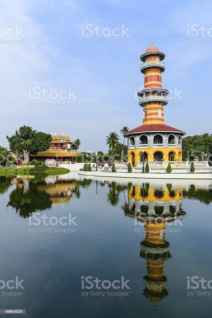 Royal summer residence Bang Pa In royalty-free stock photo