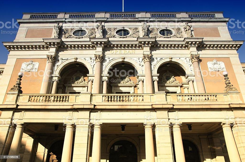 Royal Swedish Opera stock photo