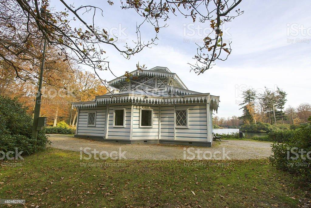 Royal thea House stock photo