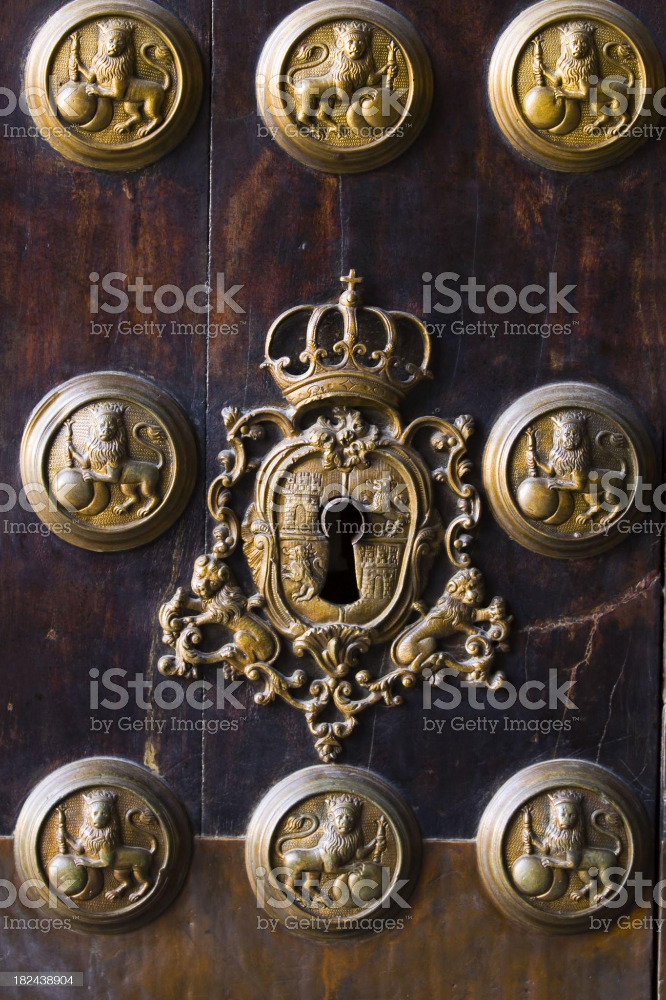 Royal Tobacco Factory Seville royalty-free stock photo