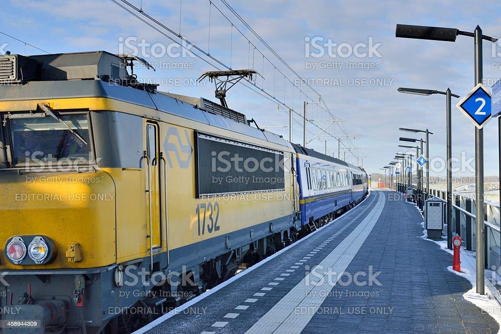 Royal train stock photo