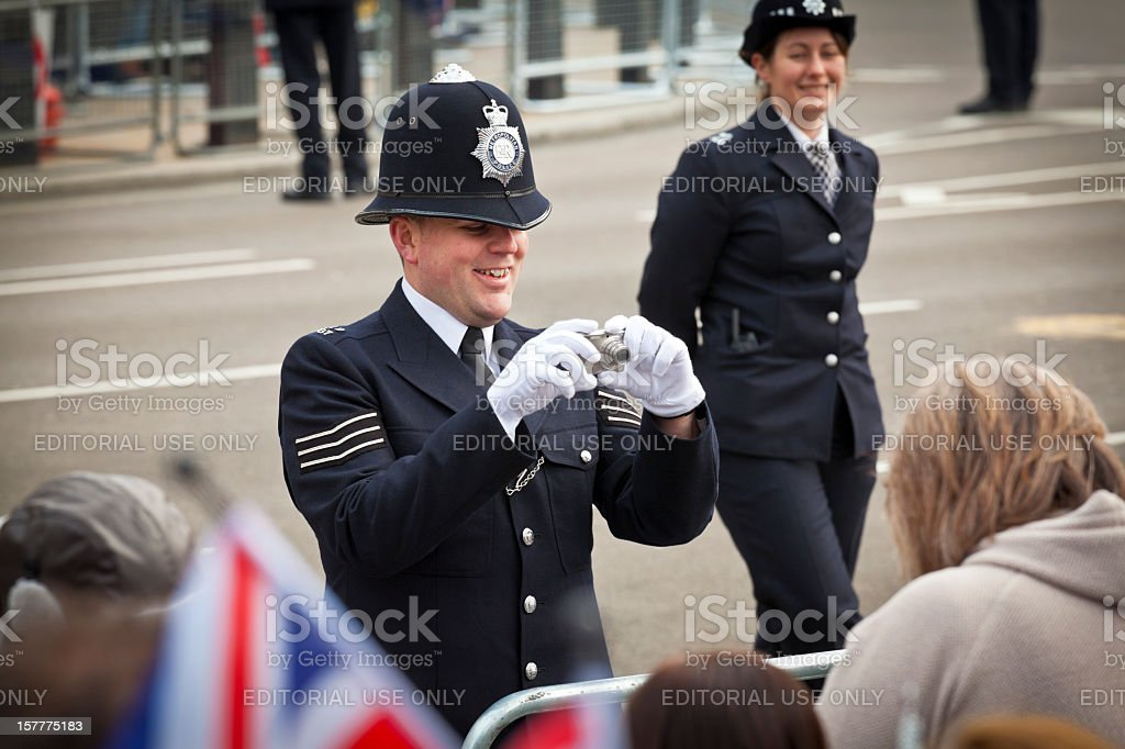 Royal Wedding Celebrations in London stock photo