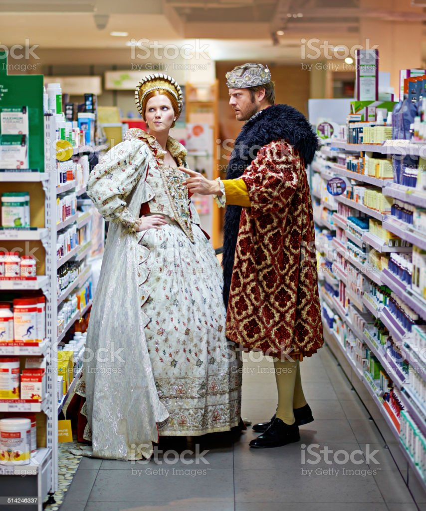 Royalty simply doesn't use that brand! stock photo