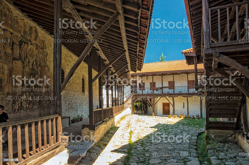 Rozhen Monastery, Bulgaria royalty-free stock photo
