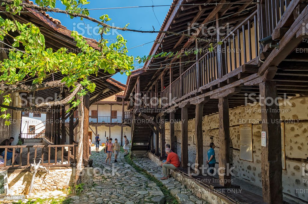Rozhen Monastery, Bulgaria royalty-free stock photo