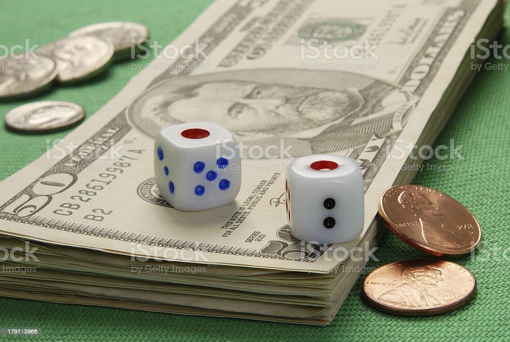 Rpg  dice royalty-free stock photo