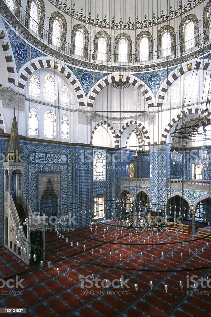 Rüstempasha Mosque-İstanbul stock photo