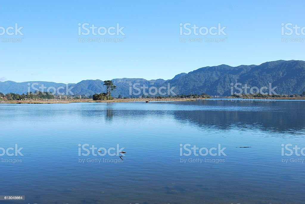 Ruataniwha Inlet, Collingwood, Golden Bay, New Zealand stock photo