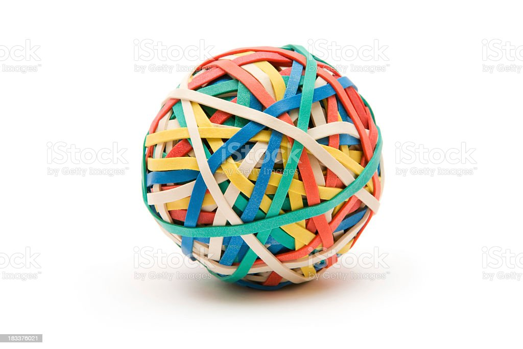 Rubber Ball royalty-free stock photo