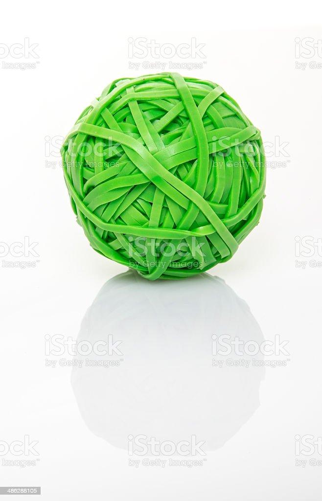 rubber ball stock photo