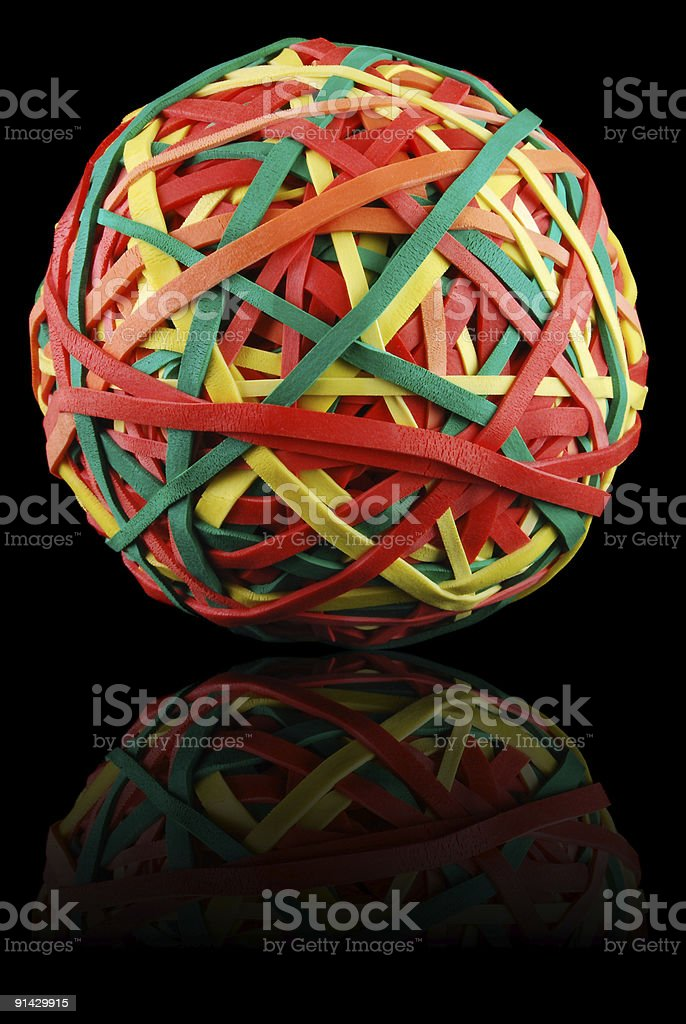 Rubber Bands royalty-free stock photo