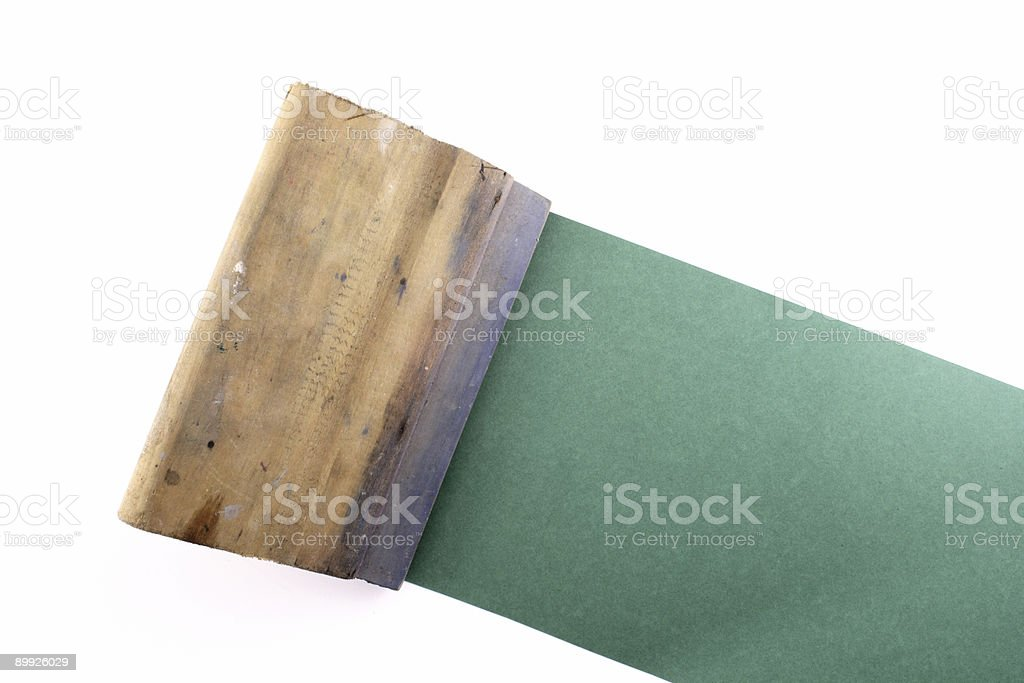 Rubber blade royalty-free stock photo