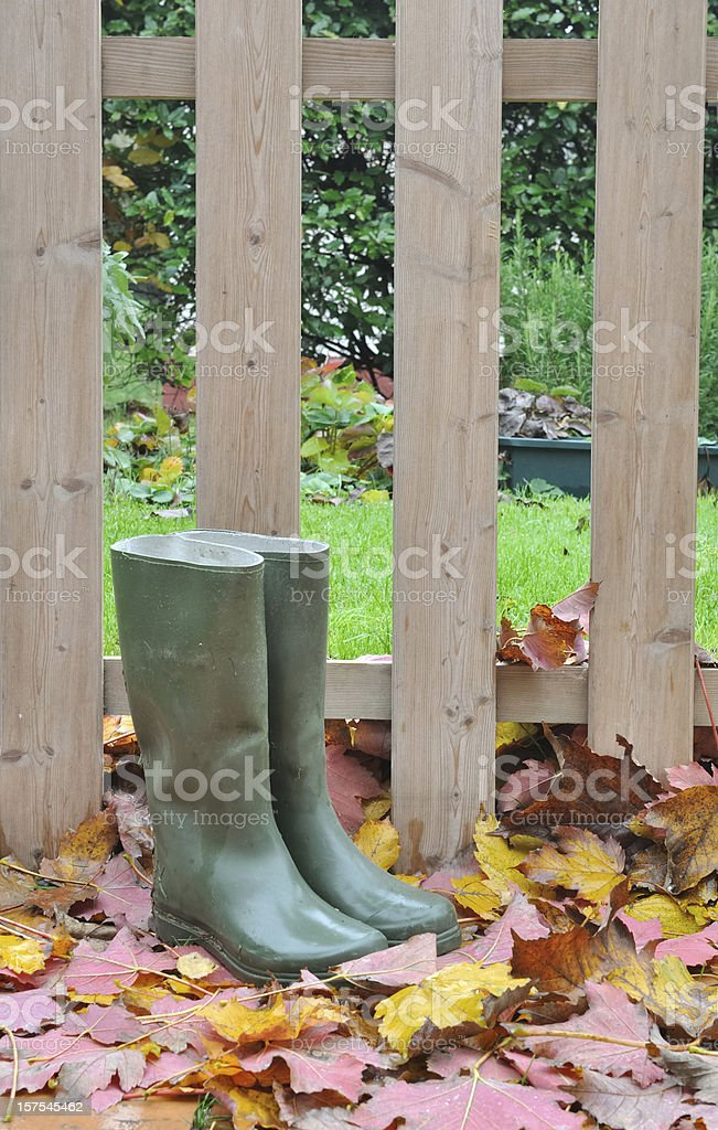 rubber boots royalty-free stock photo