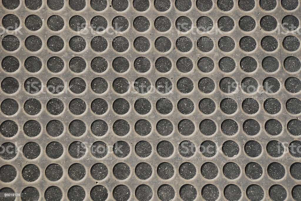 Rubber Flooring with Holes royalty-free stock photo