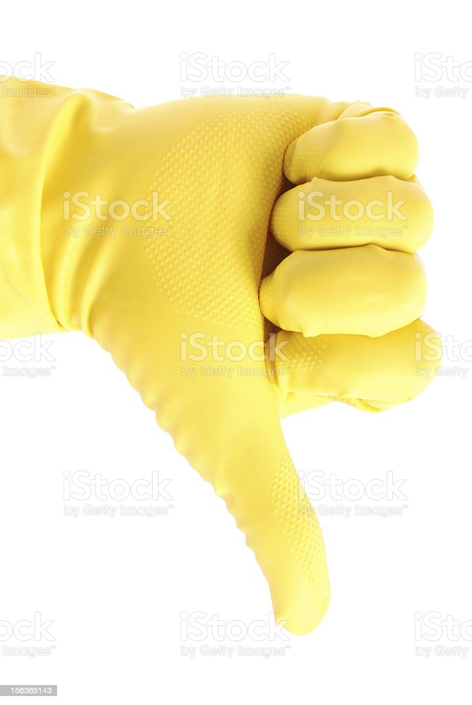 Rubber Glove royalty-free stock photo