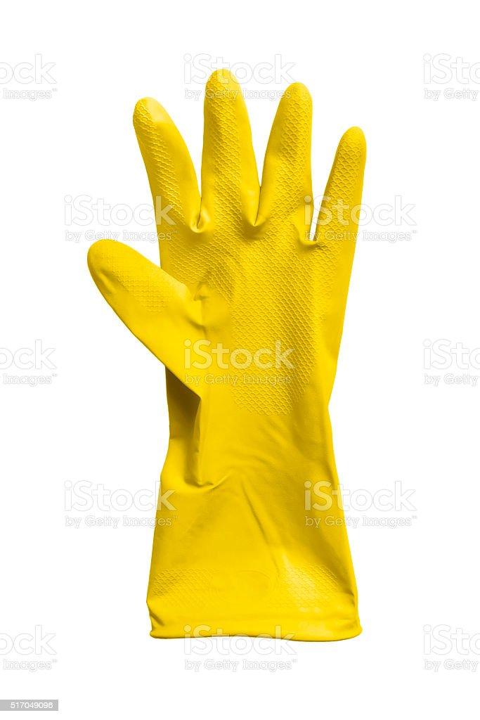 Rubber glove stock photo