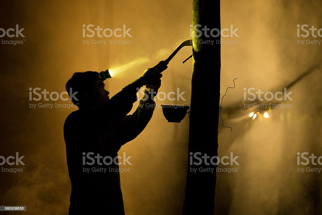 Rubber stock photo