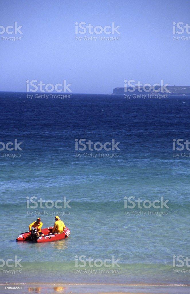 Rubber Rescue stock photo