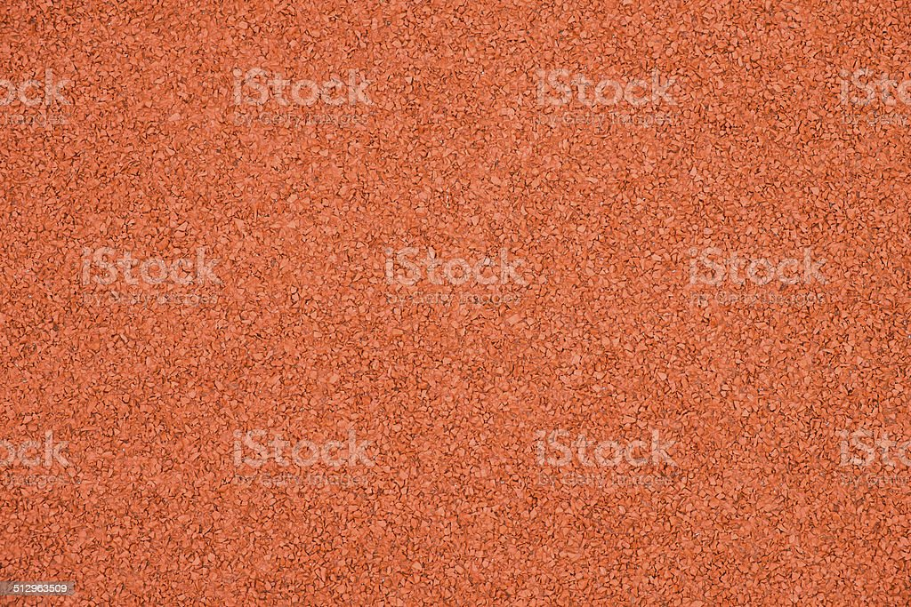 Rubber running track background stock photo