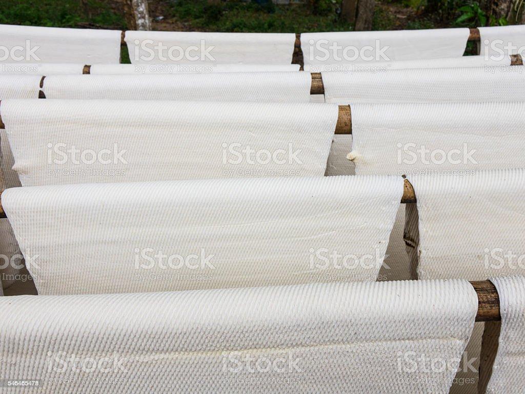 Rubber sheet background stock photo