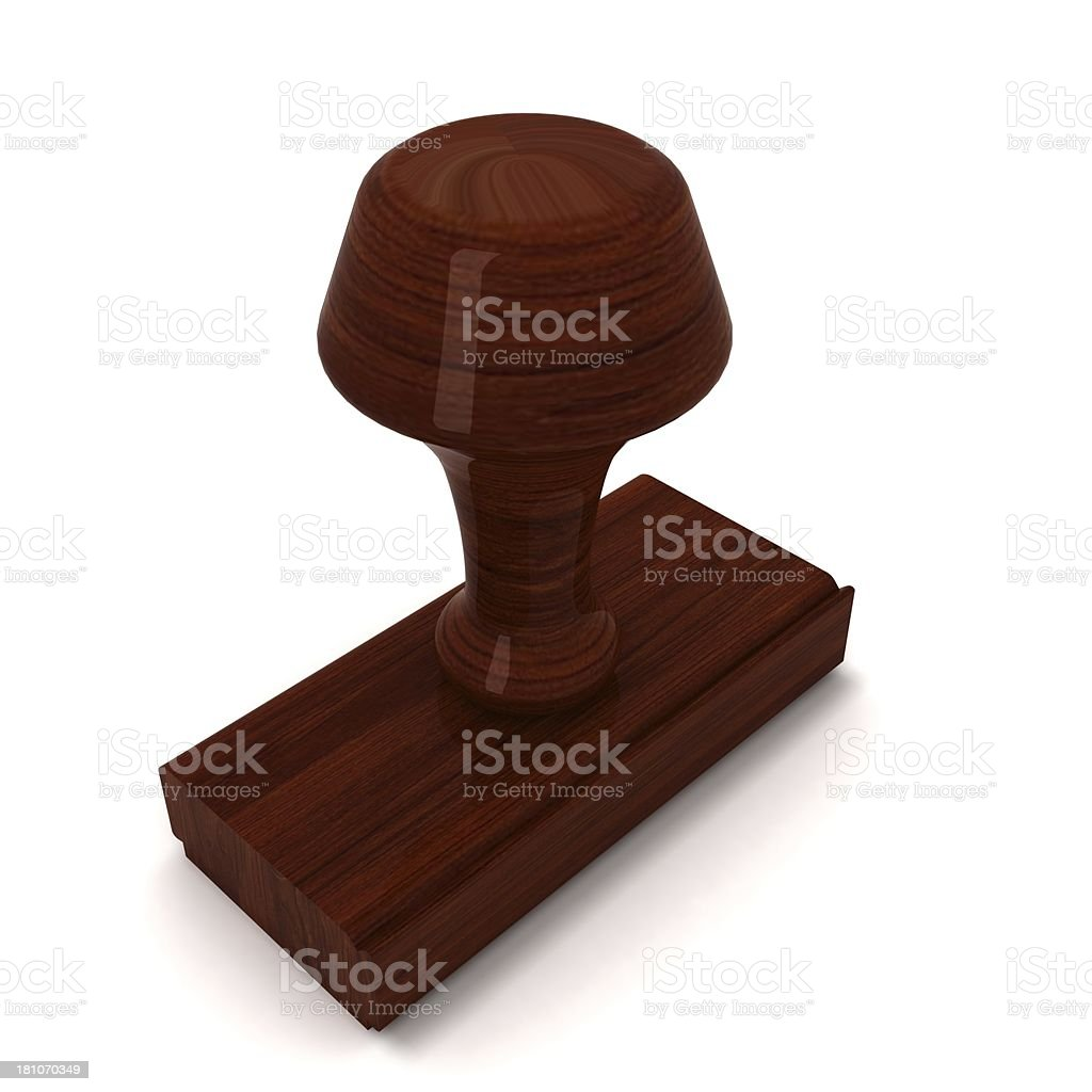 Rubber Stamp royalty-free stock photo