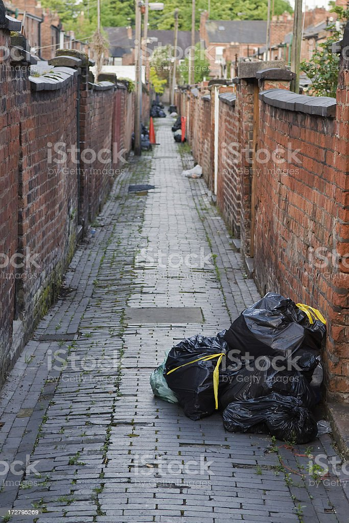 Rubbish for collection royalty-free stock photo