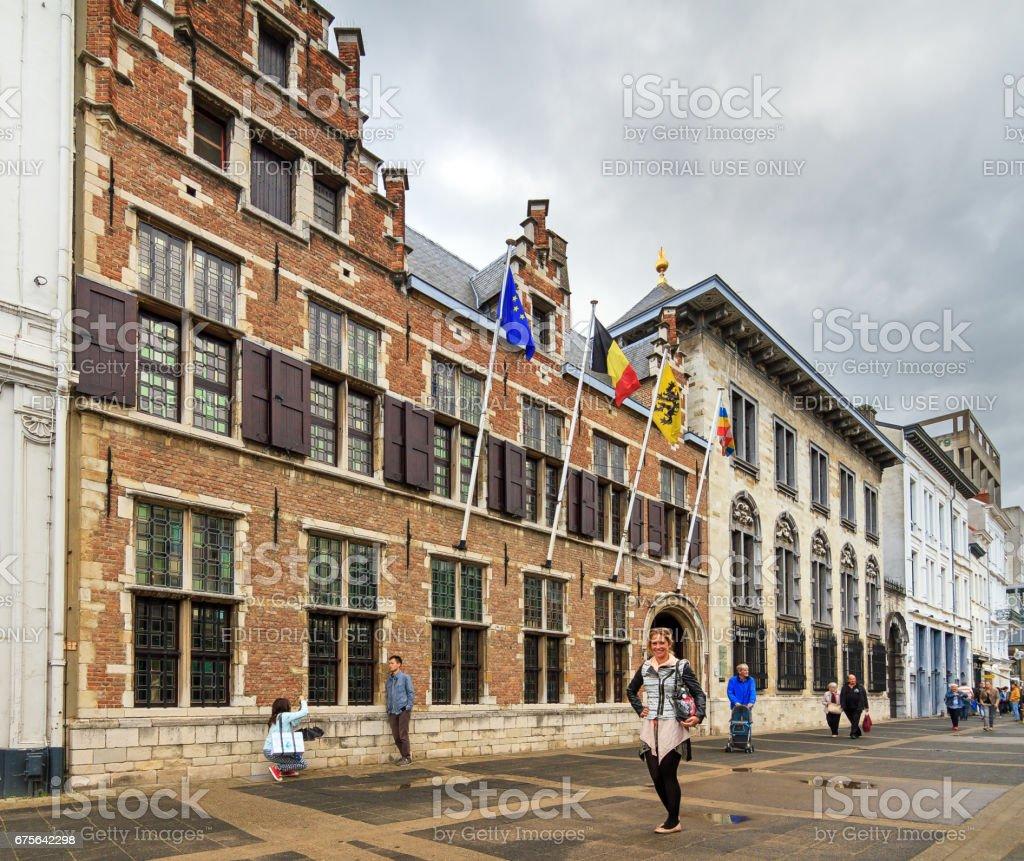 Rubens house tourism stock photo