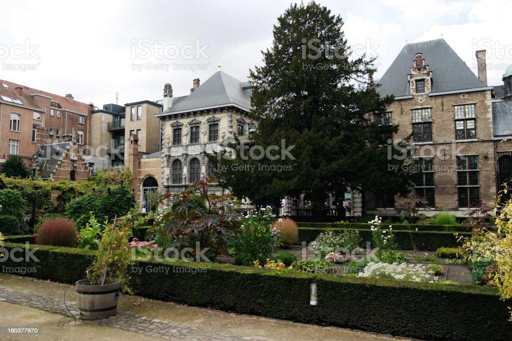 Rubenshuis Antwerp stock photo