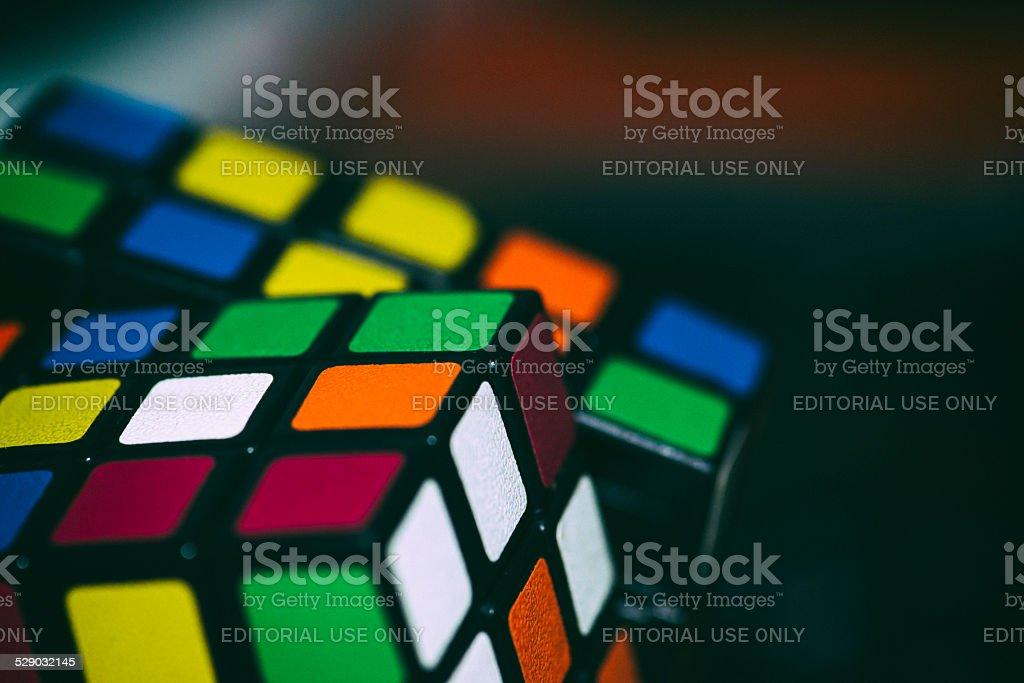 Rubik's 5x5x5 cube stock photo