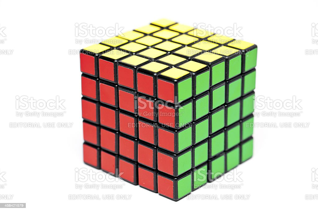 Rubik's Cube 5x5x5 royalty-free stock photo