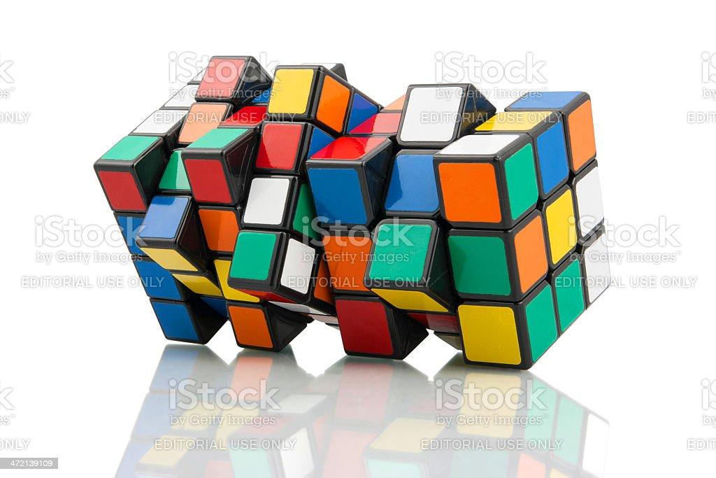 Rubik's Cubes stock photo