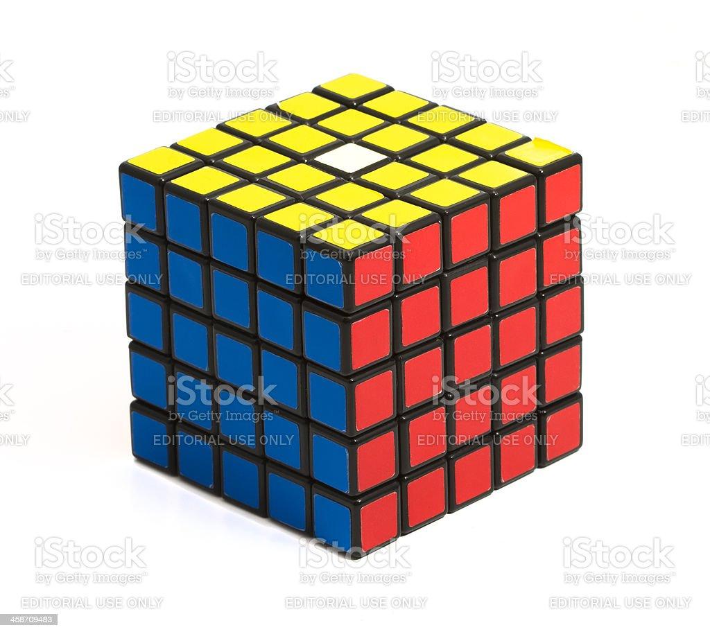 Rubik's Professor Cube royalty-free stock photo